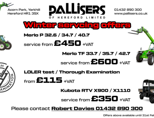 Winter servicing offers