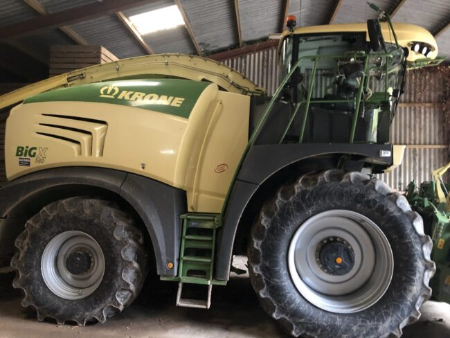 Krone BiG X 580 forage harvester