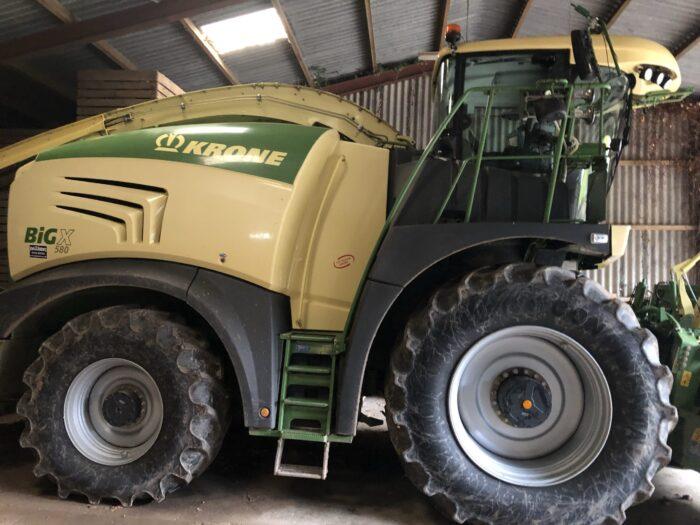 Krone BiG X 580 forage harvester