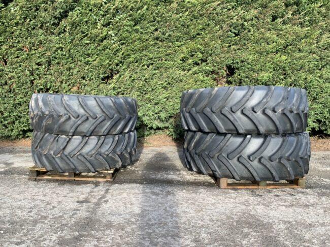 650/65 R42 & 540/65 R34 Mitas tyres 90%