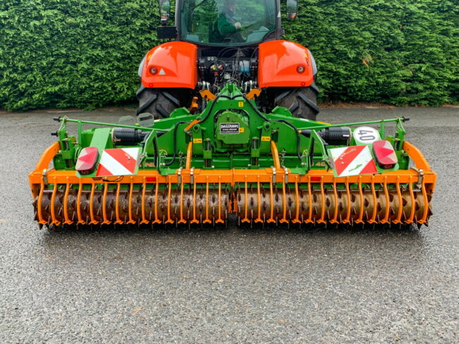 Amazone KG 4001-2 | 4 metre folding power harrow