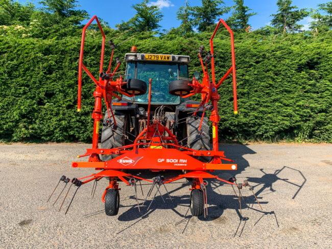 Kuhn GF 5001 MH Digidrive - 4 rotor tedder