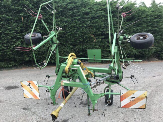 Stoll Z555 4 rotor tedder