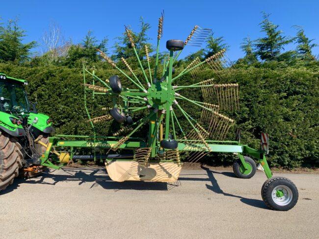Krone Swadro 900 double rotor rake