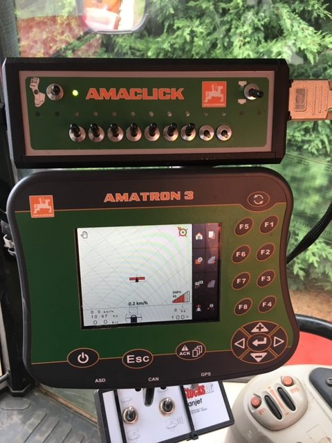 Amazone UF1801 24 metre