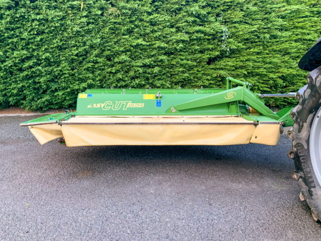 Krone EasyCut 320 CV-Q mower conditioner