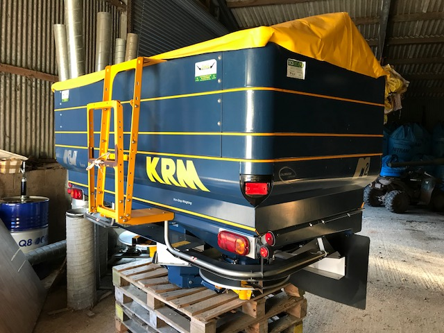 KRM M2W 2400 weigh cell spinner