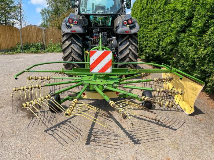 Krone KS 4.21 / 13 single rotor rake