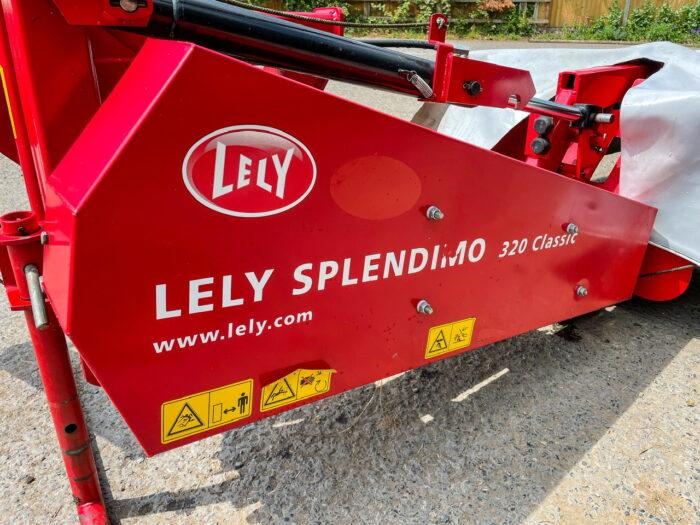 Lely Splendimo 320 Classic mower