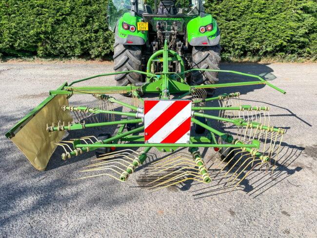 Krone Swadro 42/13 single rotor rake